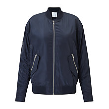 Buy Samsoe & Samsoe Thoras Jacket, Dark Sapphire Online at johnlewis.com
