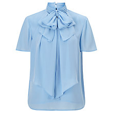 Buy Somerset by Alice Temperley Short Sleeve Bow Blouse Online at johnlewis.com