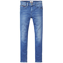 Buy Tommy Hilfiger Boys' Scanton Slim Jeans, Blue Denim Online at johnlewis.com