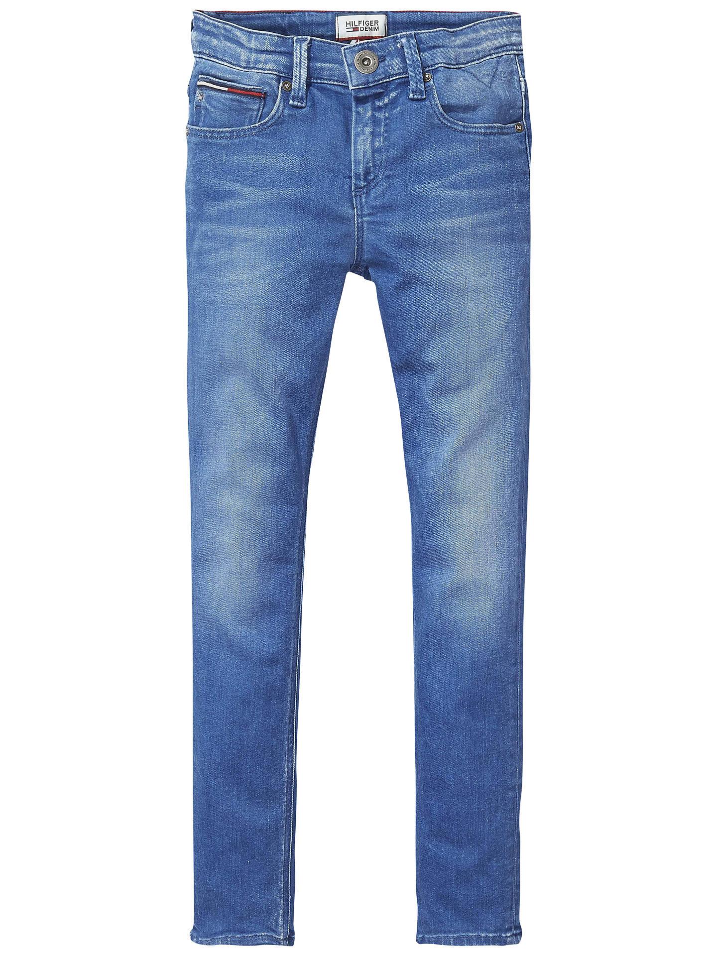 Boys Scanton Slim Jeans Mid Ble