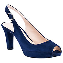 Buy Unisa Nick Peep Toe Block Heeled Sandals Online at johnlewis.com
