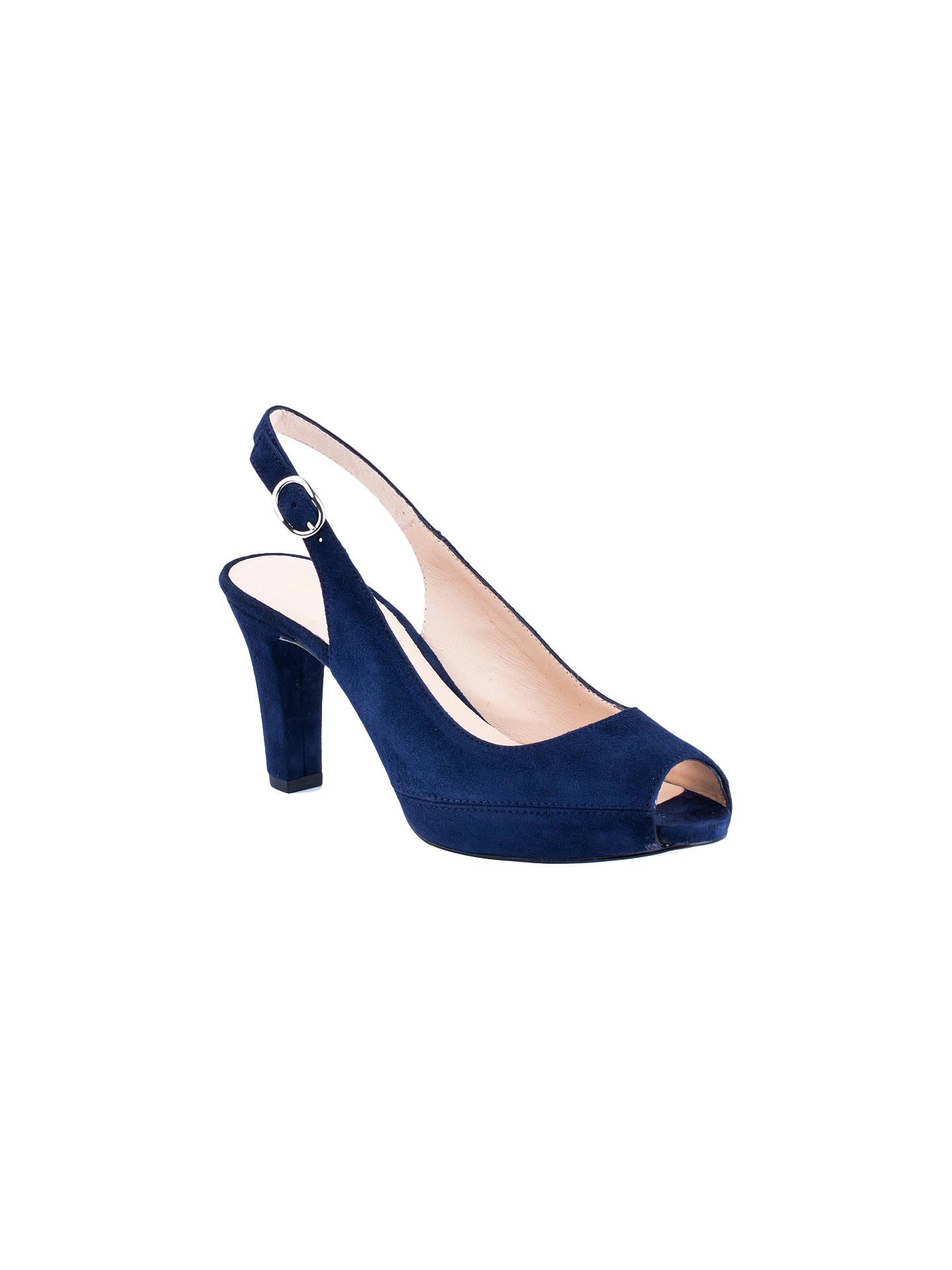 1af1f9a4c41c Unisa Nick Peep Toe Block Heeled Sandals at John Lewis   Partners