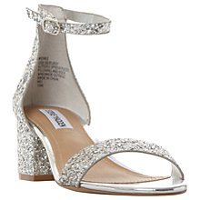Buy Steve Madden Irenee Two Part Block Heeled Sandals Online at johnlewis.com