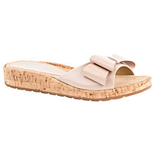 Buy Unisa Beso Bow Slider Sandals, Ballet Online at johnlewis.com