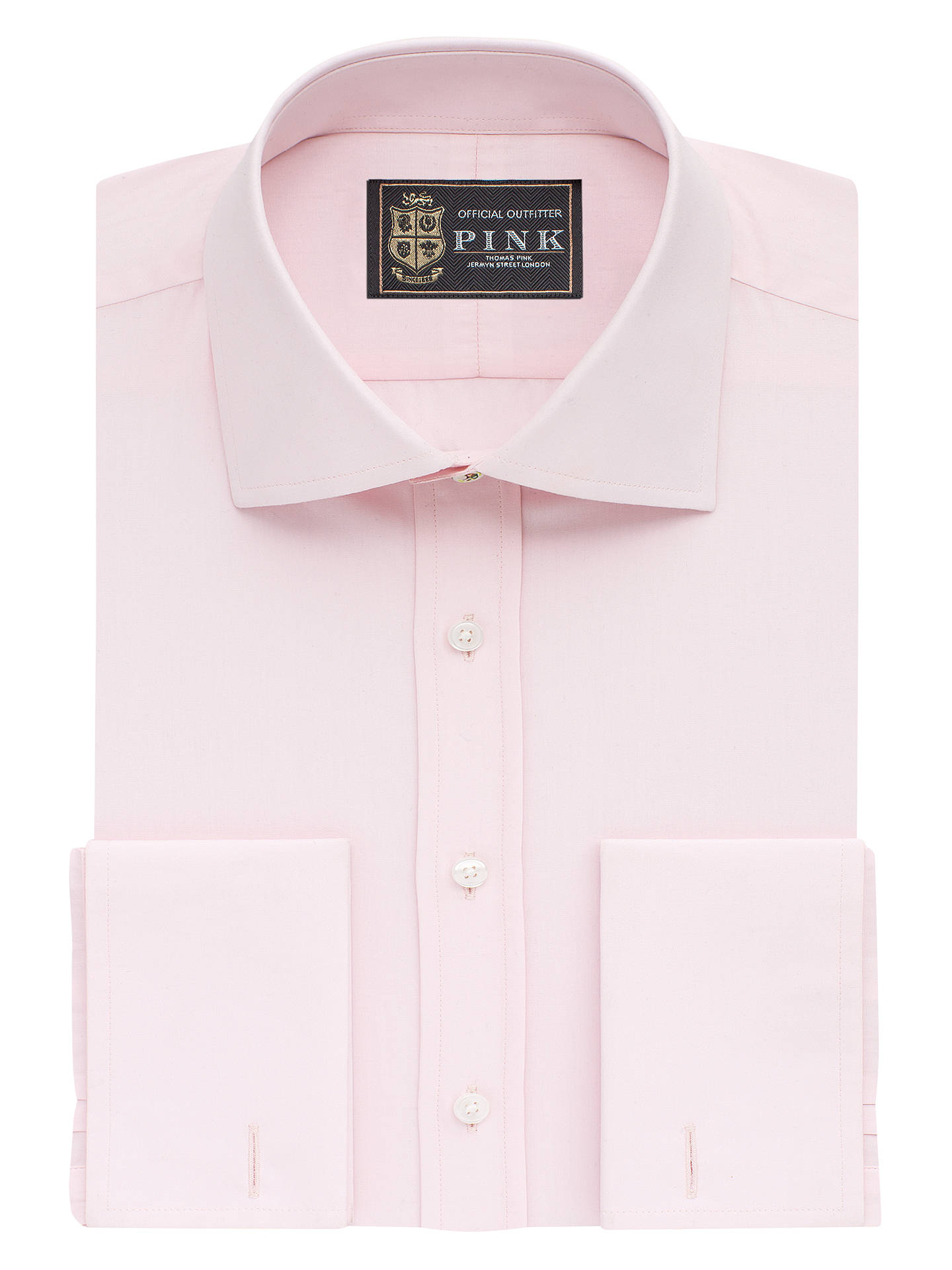 db46e35e Buy The Lions Collection by Thomas Pink Dowson Slim Fit Double Cuff Shirt,  Pale Pink ...