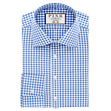 Buy Thomas Pink Summers Check Slim Fit Shirt, Blue/White Online at johnlewis.com