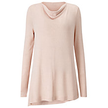 Buy Phase Eight Abilene Asymmetric Top, Pale Pink Online at johnlewis.com