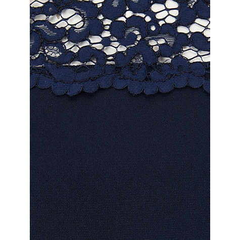 Buy Phase Eight Lowri Long Sleeve Lace Blouse, Navy Online at johnlewis.com