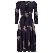 Buy Phase Eight Esme Dress, Blackcurrant/Black Online at johnlewis.com