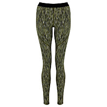 Buy Nike Pro Hyperwarm Training Tights, Green Online at johnlewis.com