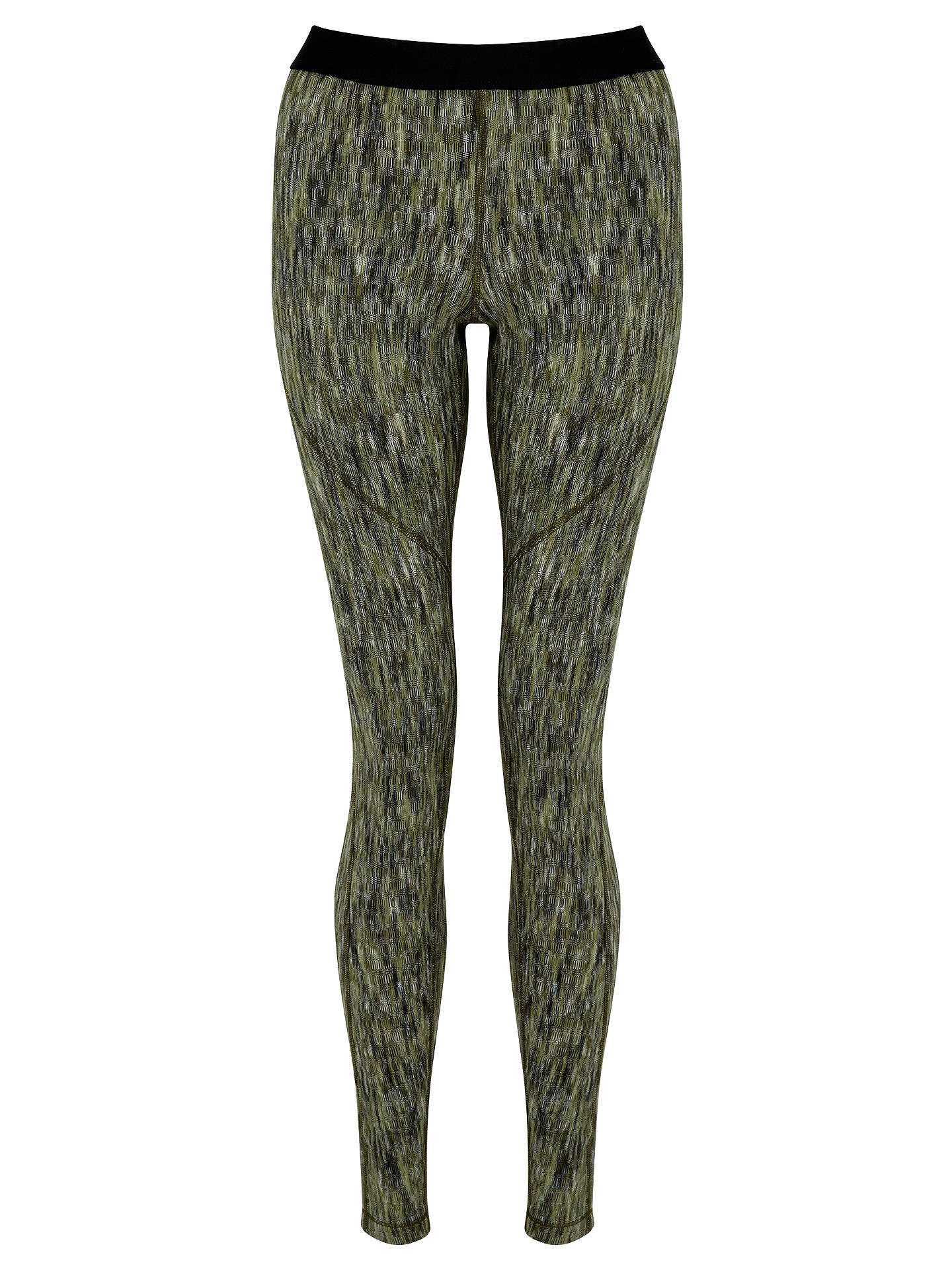4c9df1edbf948d Buy Nike Pro Hyperwarm Training Tights, Green, XS Online at johnlewis.com