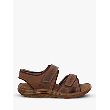 Buy Josef Seibel Raul Leather Sandals, Castange Online at johnlewis.com