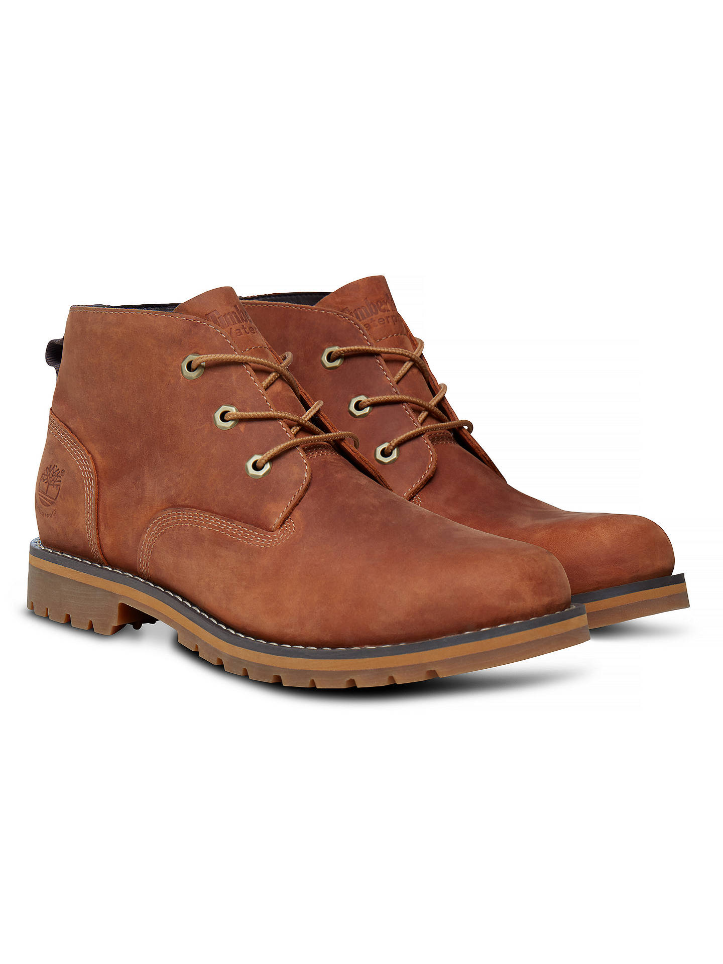 9b38dfdc14d Timberland Larchmont Waterproof Chukka Boots, Brown at John Lewis ...