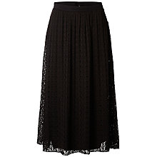 Buy Selected Femme Diny Lace Skirt, Black Online at johnlewis.com
