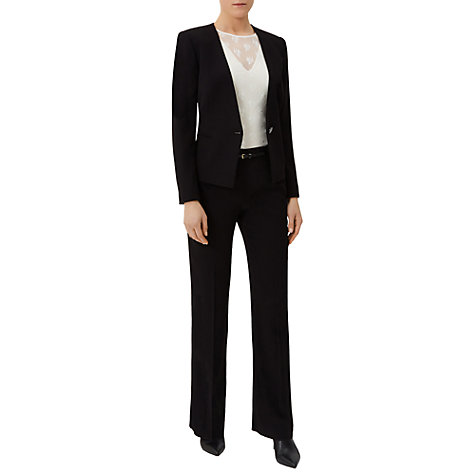 Buy Damsel in a dress Carrington Trousers, Black Online at johnlewis.com
