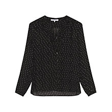 Buy Gerard Darel Jules Blouse, Black Online at johnlewis.com