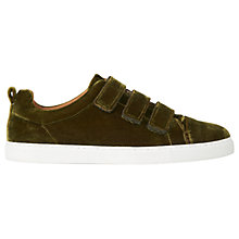 Buy Whistles Aith Flat Triple Rip Tape Trainers Online at johnlewis.com