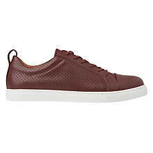 Buy Whistles Kenley Perforated Lace Up Trainers Online at johnlewis.com