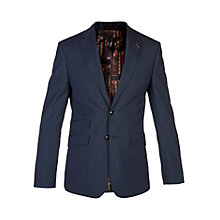 Buy Ted Baker Drainj Check Tailored Suit Jacket, Blue Online at johnlewis.com