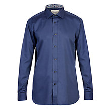 Buy Ted Baker Endurance Aries Geo Print Shirt, Navy Online at johnlewis.com