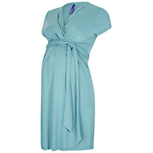 Buy Séraphine Abbey Wrap Maternity Dress, Sea Breeze Online at johnlewis.com