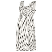 Buy Séraphine Felicity Luxe Dress, White/black Online at johnlewis.com