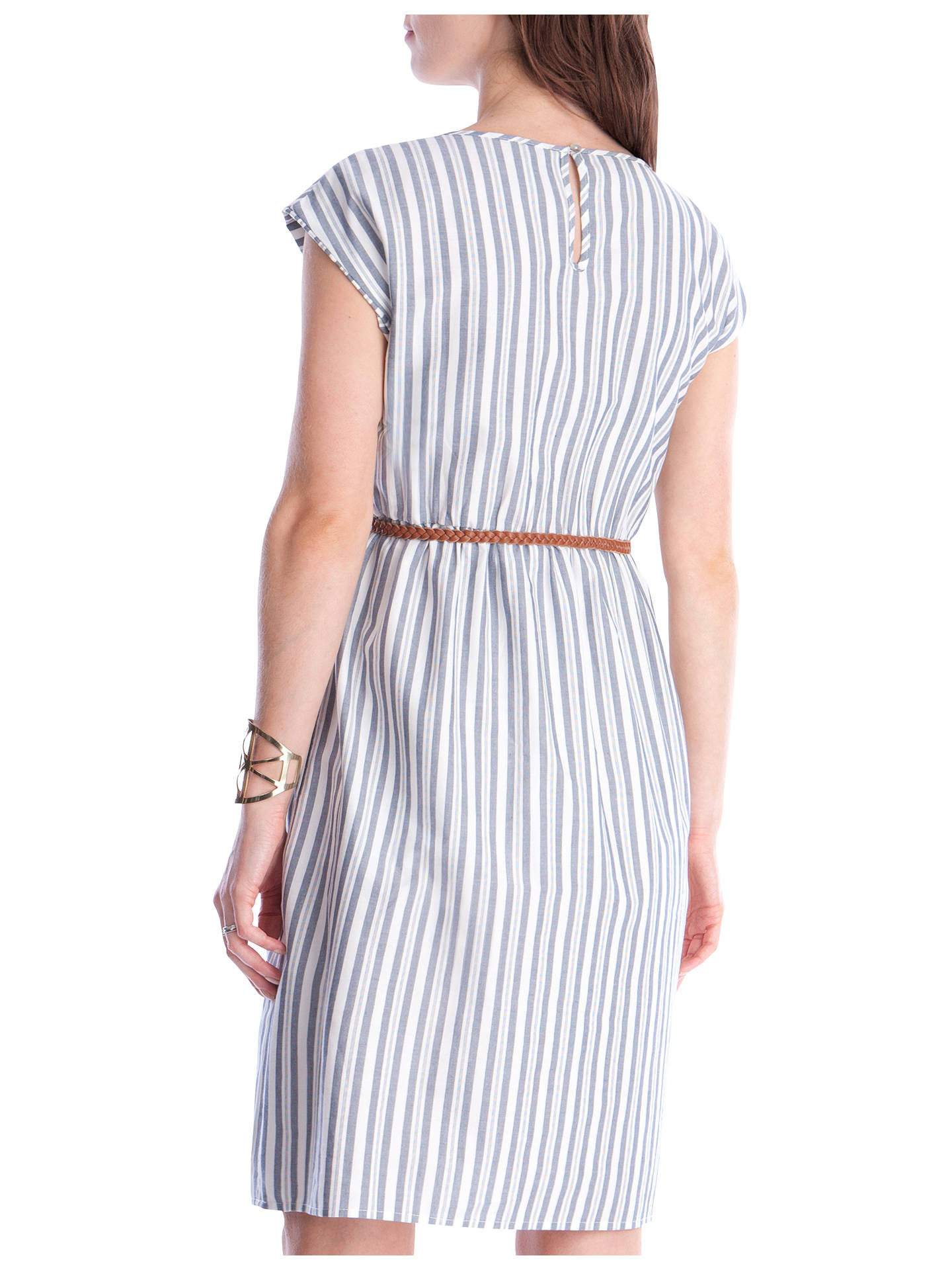 d73ebfff86385 ... Buy Séraphine Presley Cotton Stripe Maternity Nursing Dress,  Blue/White, 8 Online at ...