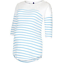 Buy Séraphine Jillian Striped Maternity Nursing Top, Blue/White Online at johnlewis.com