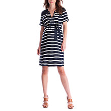 Buy Séraphine Mattie Nautical Maternity Dress, Blue/White Online at johnlewis.com