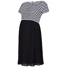 Buy Séraphine Tyler Nautical Maternity Dress, Navy Online at johnlewis.com