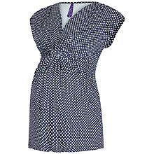 Buy Séraphine Liza Printed Maternity Nursing Function Top, Navy Online at johnlewis.com