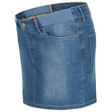 Buy Séraphine Jensen Denim Maternity Skirt, Blue Online at johnlewis.com