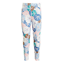 Buy John Lewis Girls' Floral Leggings, Blue/Multi Online at johnlewis.com
