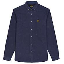 Buy Lyle & Scott Brushed Flecked Shirt Online at johnlewis.com