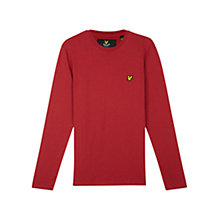Buy Lyle & Scott Long Sleeve T-Shirt Online at johnlewis.com