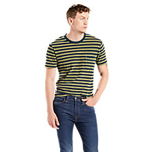 Buy Levi's Sunset Pocket T-Shirt, Sea Moss/Indigo Online at johnlewis.com