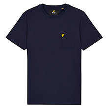 Buy Lyle & Scott Ottoman Patch Pocket Crew Neck T-Shirt Online at johnlewis.com