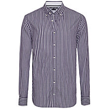 Buy Tommy Hilfiger Herri Stripe Shirt, Blackberry Online at johnlewis.com