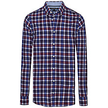 Buy Tommy Hilfiger Berny Checked Shirt, Blackberry Cordial Online at johnlewis.com