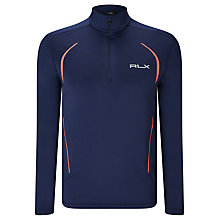 Buy Polo Golf by Ralph Lauren RLX Stretch Jersey Pullover Top, French Navy Online at johnlewis.com