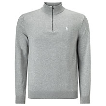 Buy Polo Golf by Ralph Lauren Half-Zip Cotton Jumper Online at johnlewis.com