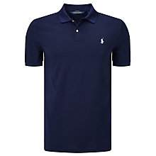 Buy Polo Golf by Ralph Lauren Short Sleeve Polo Shirt, French Navy Online at johnlewis.com