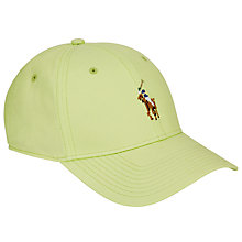 Buy Polo Golf by Ralph Lauren Fairway Cotton Baseball Cap, One Size Online at johnlewis.com