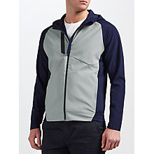 Buy Polo Golf by Ralph Lauren RLX Technical Jersey Jacket, Rugby Heather Online at johnlewis.com