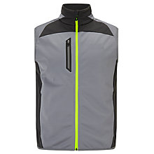 Buy Polo Golf by Ralph Lauren Panelled Gilet, Active Grey Online at johnlewis.com