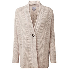 Buy Pure Collection Phoebe Cardigan, Marble Twist Online at johnlewis.com