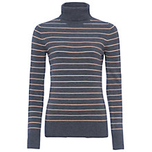 Buy French Connection Babysoft Striped Turtleneck Jumper Online at johnlewis.com