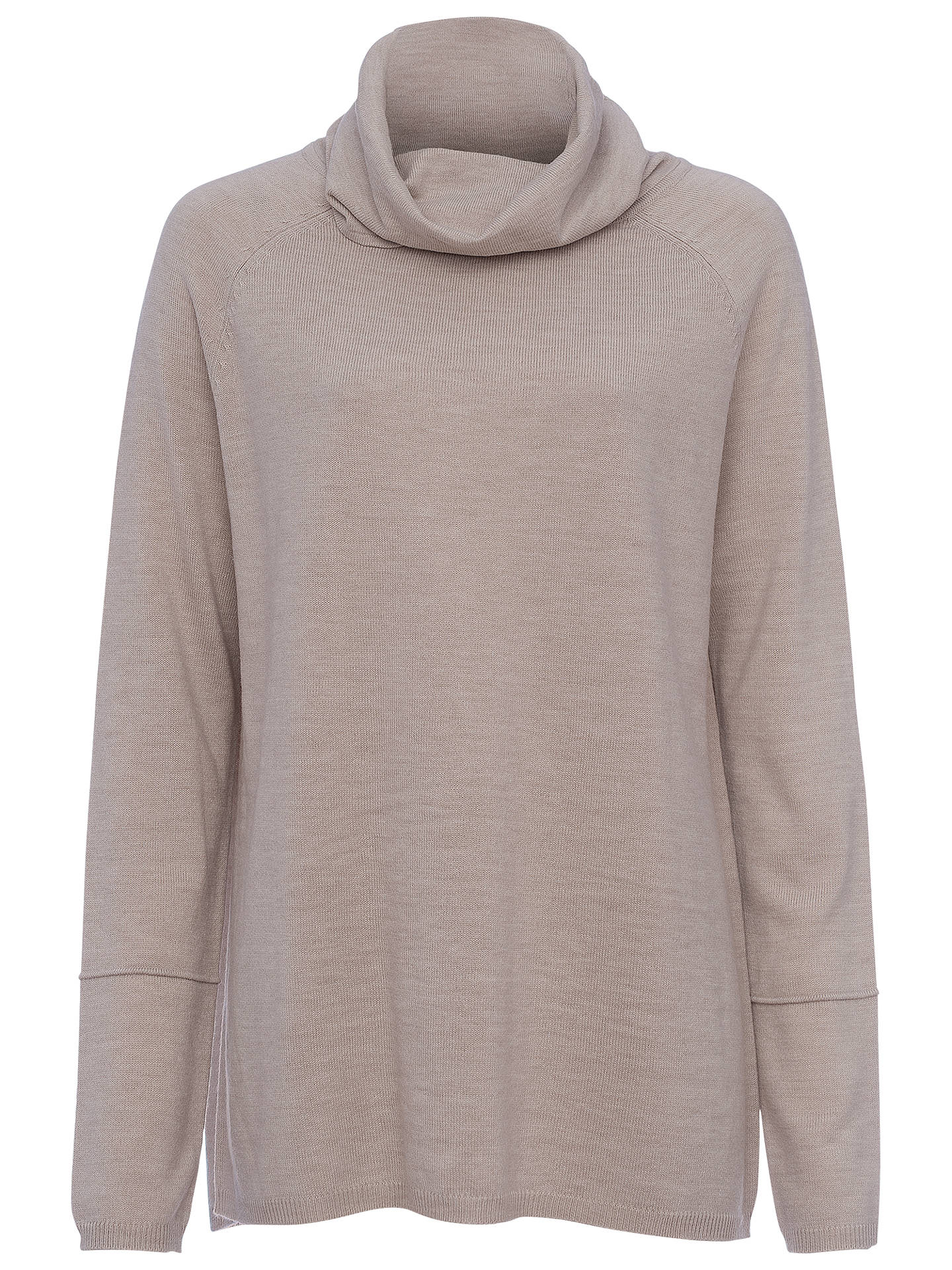 815122c920c Buy French Connection Angelina Cowl Neck Knit Top, Light Oatmeal, XS Online  at johnlewis ...