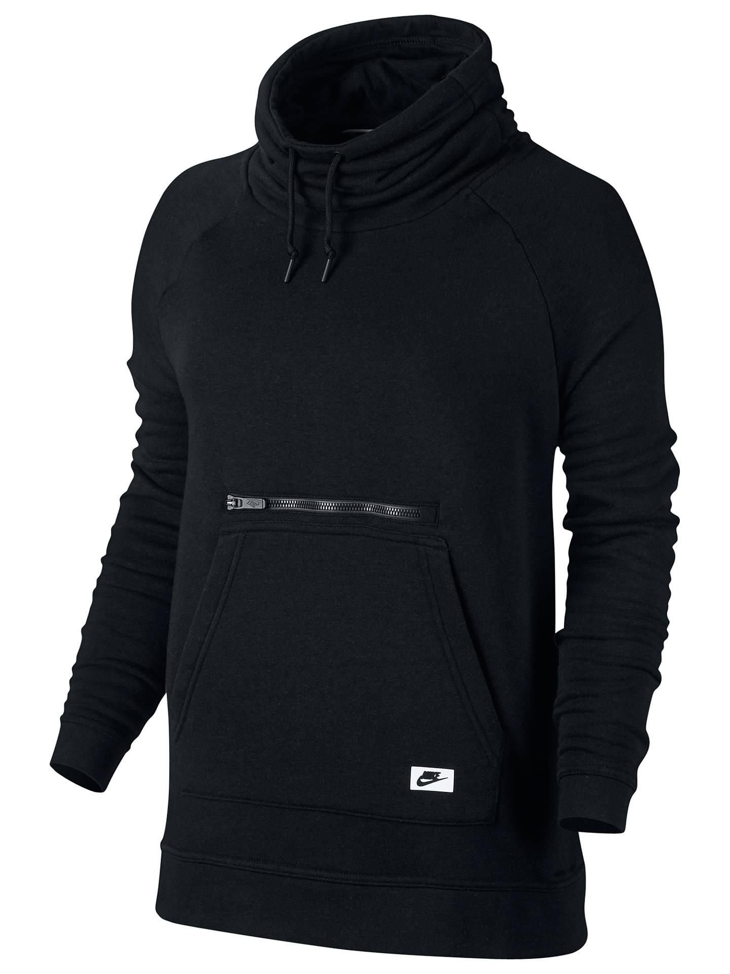 3905928c2d11 Nike Sportswear Modern Funnel-Neck Hoodie at John Lewis   Partners