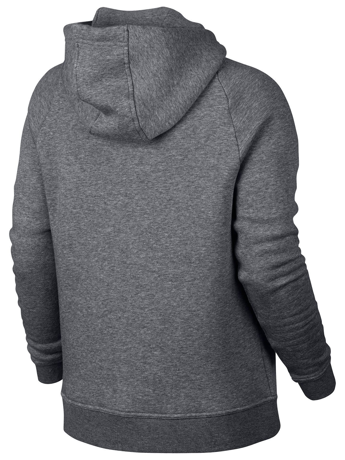 Buy Nike Sportswear Rally Hoodie, Grey, XS Online at johnlewis.com